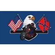 Vlag Highway Hero Bike  vlag USA Confederate