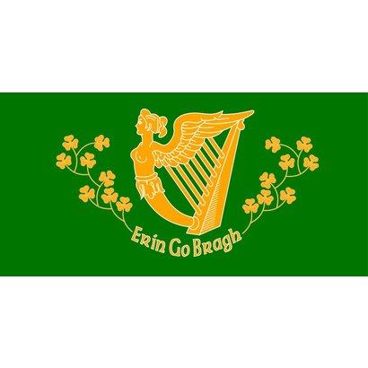 Vlag Ierland Erin Go Bragh vlag