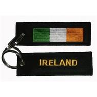 Sleutelhanger / Keyring Ierland vlag Sleutelhanger