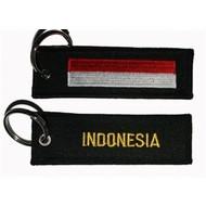 Sleutelhanger / Keyring Indonesia vlag sleutelhanger