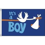 Vlag Its a BOY vlag