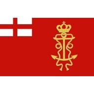 Vlag James II Lord High Admiral Ensign 1686 vlag
