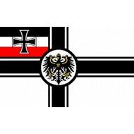 Vlag Kaiserliche Marine 1903 tot 1919