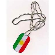 Dog Tag Koerdistan vlag