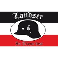 Vlag Landser In Treue fest vlag