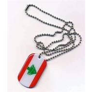 Dog Tag Libanon Dog Tag