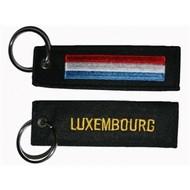Sleutelhanger / Keyring Luxembourg vlag keyring