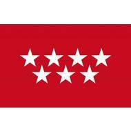 Vlag Madrid vlag Autonoom Region