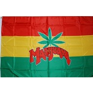 Vlag Marijuana Hasj