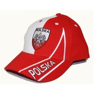 Baseball pet Polen vlag baseball pet