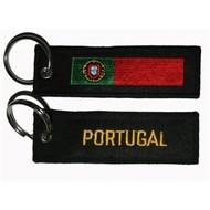 Sleutelhanger / Keyring Portugal vlag sleutelhanger
