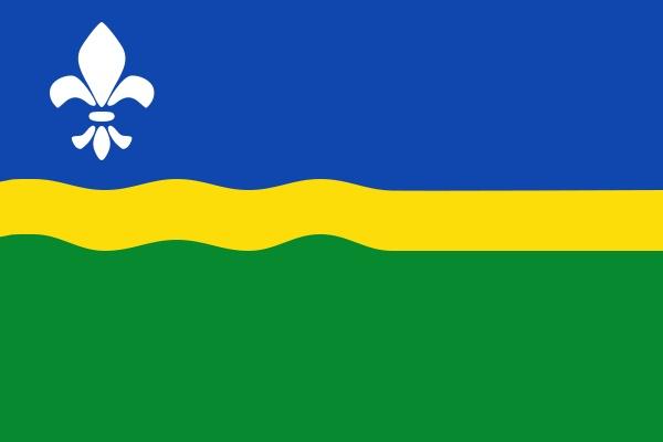 Afbeeldingsresultaat voor vlag flevoland