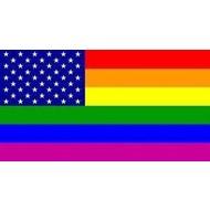 Vlag Regenboog USA