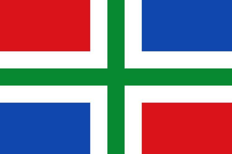 Afbeeldingsresultaat voor groningen vlag
