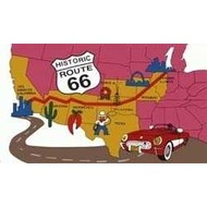 Vlag Route 66 vlag