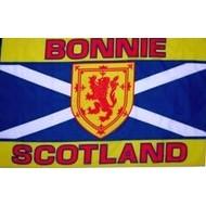 Vlag Schotland Bonnie Scotland