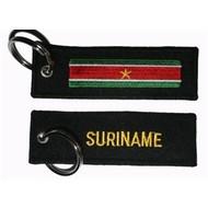 Sleutelhanger / Keyring Suriname vlag sleutelhanger