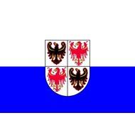 Vlag Trentino-Zuid-Tirol regio