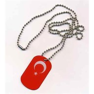 Dog Tag Turkey flag Dog tag