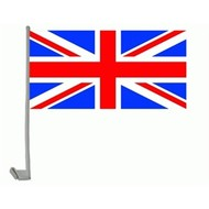 Autovlag UK Union Jack Engeland Verenigde Koninkrijk auto