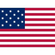 Vlag USA 15 Stars 1795-1818