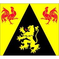 Vlag Waals Brabant Wallon