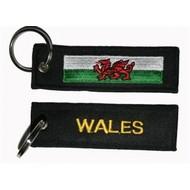 Sleutelhanger / Keyring Wales vlag sleutelhanger keyring