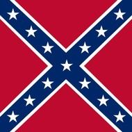 Vlag Confederate boot
