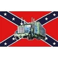 Vlag Confederate Truck
