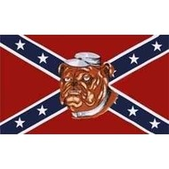 Vlag Confederate Bulldog flag