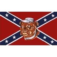 Vlag Confederate Bulldog vlag