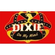 Vlag Confederate Dixie on my Mind