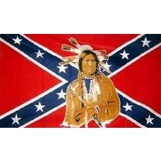 Vlag Confederate Indian flag