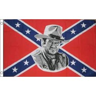Vlag Confederate John Wayne flag