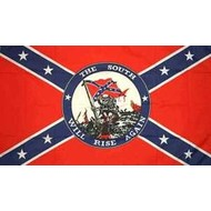 Vlag Confederate South Will Rise Again vlag