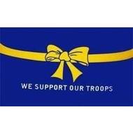 Vlag We Support Our Troops vlag