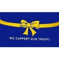 Vlag We Support Our Troops