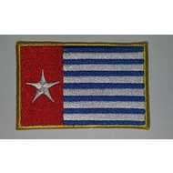 Patch MorgensterWest Papua vlag patch