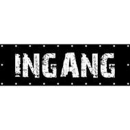 Spandoek met eigen tekst of logo
