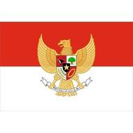 Vlag Garuda Indonesia flag