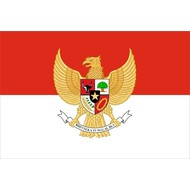 Vlag Indonesia Garuda vlag