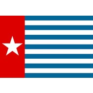Vlag Morgenster vlag west Papua