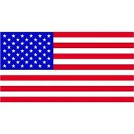Vlag USA flag 3 x 5m