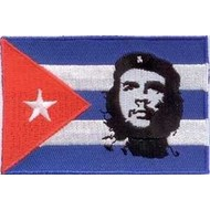 Patch Cuba Che Guevara flag patch
