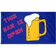 Vlag The Bar is Open flag