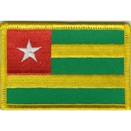 Patch Togo flag patch