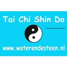 Vlag Tai Chi Shin Do 225 x 150cm