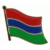 Speldje Gambia flag pin