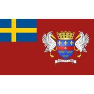 Vlag Flag of Saint Barthélemy