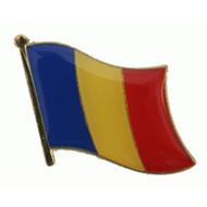 Speldje Romania flag Pin